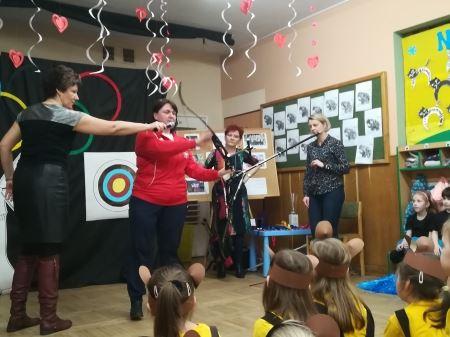 Spotkanie z panią Mileną Olszewską - wychowanką naszego przedszkola, polską