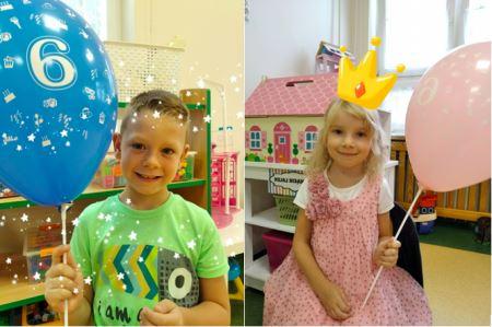 Pierwsze urodzinki w tym roku - Marcel i Nela skończyli 6 lat!