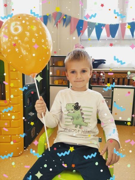 6- te Urodziny Michała