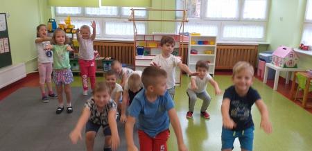 Zabawy gimnastyczne
