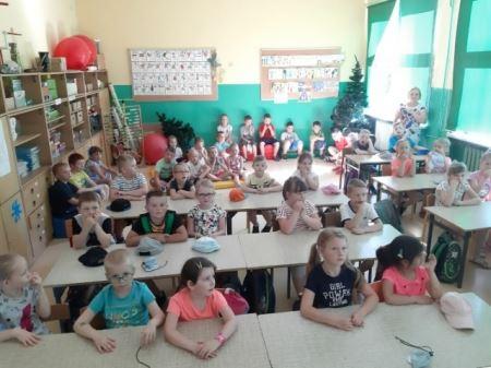 Wycieczka do Szkoły Podstawowej nr 1 w Czarnkowie