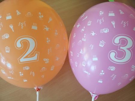 Urodzinki Zosi i Wiktorka