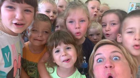 Nasz pierwszy dzień w przedszkolu po wakacjach