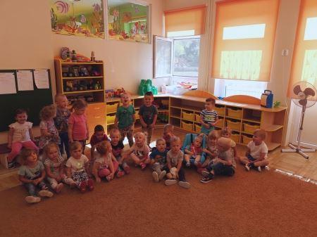 Pierwsze dni w naszym przedszkolu