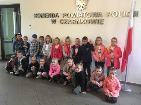 Wycieczka do Komendy Powiatowej Policji w Czarnkowie