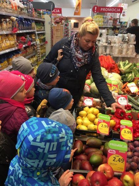 Z wizytą w dziale warzywnym