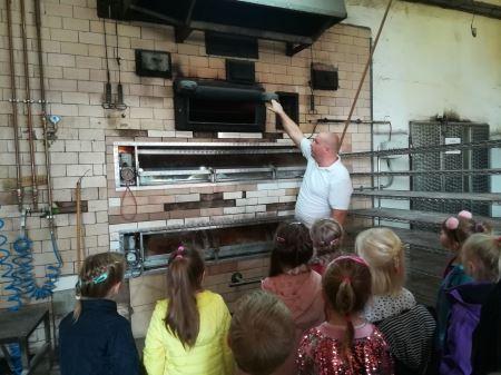Wycieczka do zakładu piekarniczo-cukierniczego