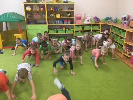 Zajęcia z gimnastyki