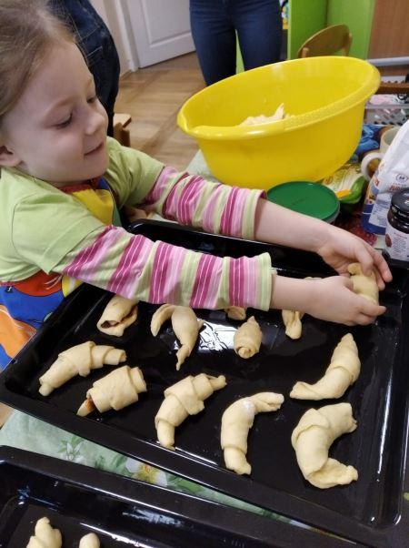 Zajęcia kulinarne - Pieczemy rogaliki