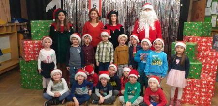 Mikołaj nas odwiedził. Dzień pełen wrażeń, niespodzianek i radości.