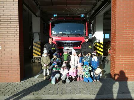 Wyjście do Komendy Powiatowej Państwowej Straży Pożarnej