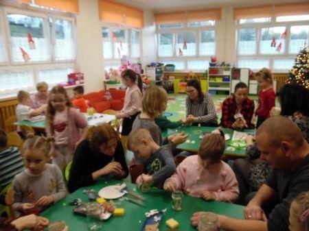 Warsztaty świąteczne z rodzicami