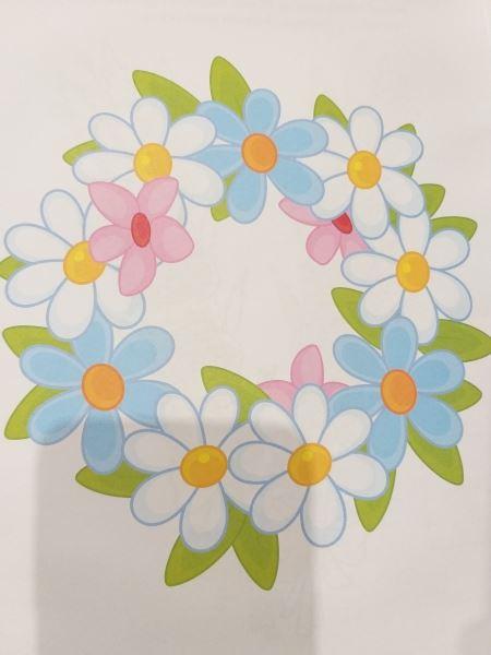 Rozkwitające kwiaty - wiosenne zabawy z wodą