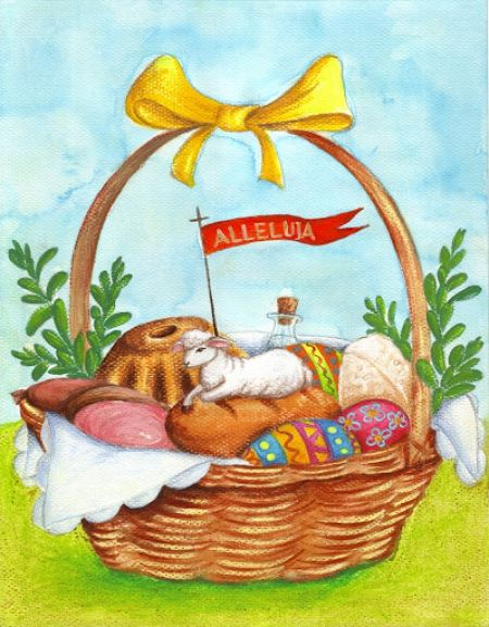 WIELKANOC – 3. Wielkanocny koszyczek