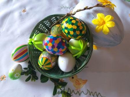 PISANKI - jajka kolorowe
